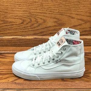 Vans Black Ball Hi SF Leila Hurst True White Shoes
